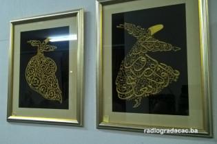 Izložba zlatoveza Derviše Sarajlić
