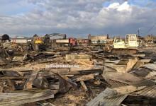 Počelo čišćenje zgarišta gradačačke pijace u Porebricama