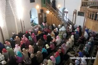 U džamiji Husejniji održan Mevlud za žene