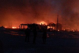 Veliki požar u Porebricama na gradačačkoj pijaci