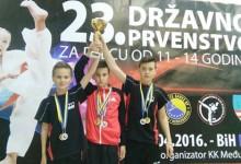 Tarik Kadić osvojio tri medalje na državnom prvenstvu u Čitluku