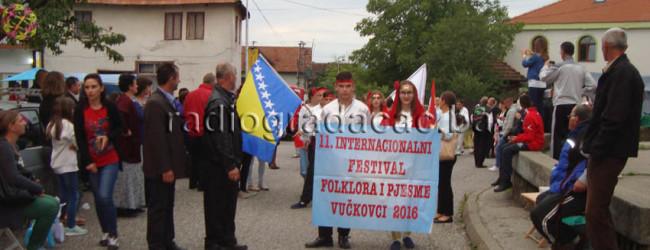 "Održan 11. Festival folklora i pjesme ""Vučkovci 2016"""
