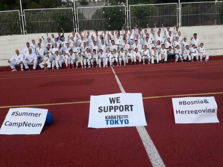 Karate olimpijski sport 2020