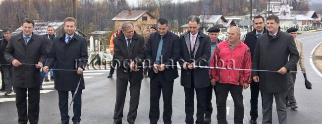 Okončana rekonstrukcija dijela Regionalne ceste Gradačac – Gračanica