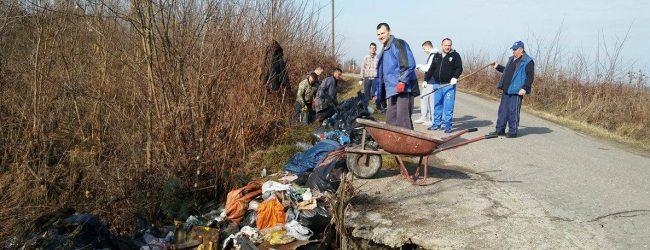 """""""Očistimo naše Vide"""" – ekološke akcije u dvije prigradske mjesne zajednice"""