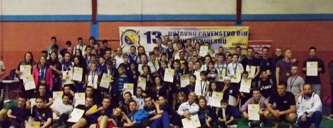 13. kung fu Prvenstvo BiH: KBS Zmaj osvojio 10 medalja