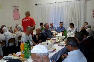 Upriličen džematski iftar u Centru za aktivno starenje u Sibovcu
