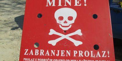 Zbog deminerskih radova povremene obustave na putu M-14.1 Pelagićevo-Gradačac