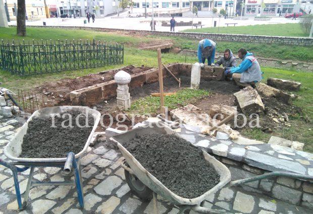 Počeli radovi na uređenu Hadžiefendijinog mezara
