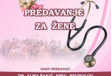 U subotu predavanje o zdravlju za žene