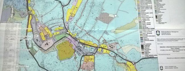 JAVNI OGLAS: U toku postupak izmjene Urbanističkog plana Gradačac 2020. godine