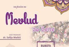 Centralna mevludska svečanost za žene u džamiji na Požarikama