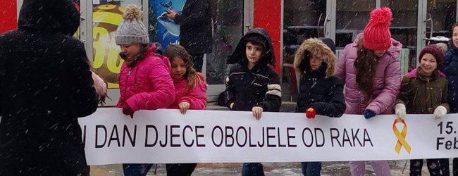 """Udruženje """"PIPOL"""" i učenici OŠ """"Ivan Goran Kovačić"""" obilježavaju Međunarodni dan djece oboljele i liječene od raka"""