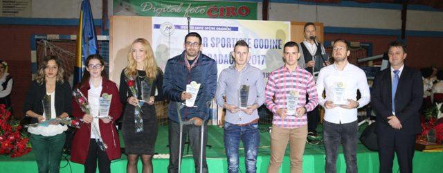 Lazarević, Prljača i Babajić sportisti Gradačca za 2017. godinu