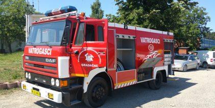 Od 1. marta počinje sa radom Profesionalna vatrogasna jedinica Gradačac