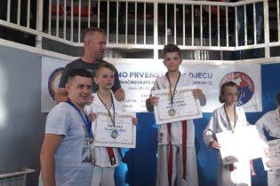 Karatisti Tempa učestvovali na državnom prvenstvu za djecu