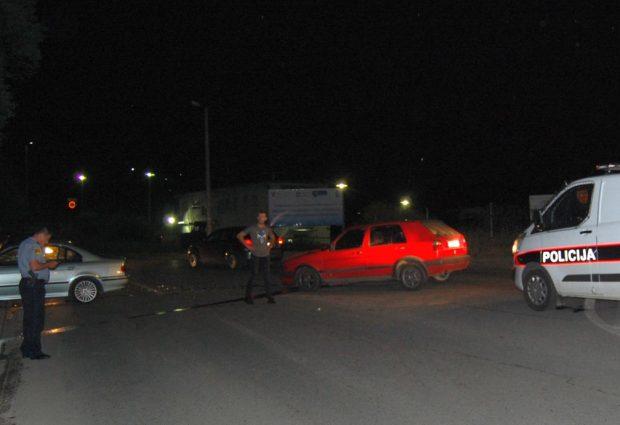 Saobraćajna nezgodana raskrsnici ulica Sarajevska i Kadić Mahala