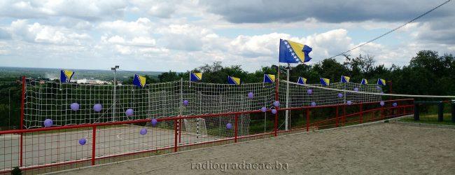Otvoren sportski poligon u MZ Škorići