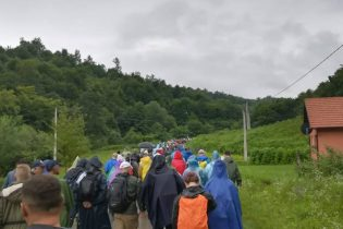 Marš mira: Dolinom grobnica ka planini Udrč