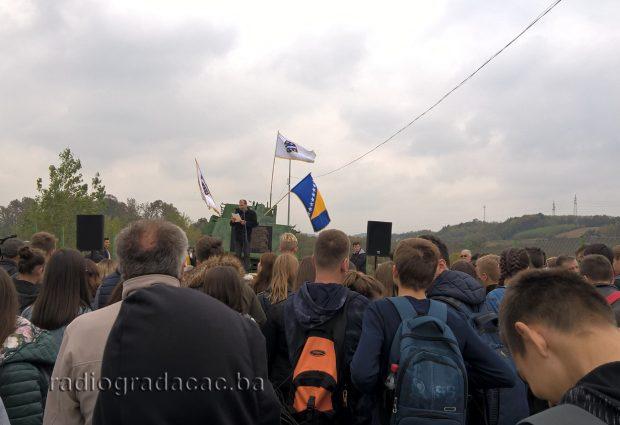 FOTO: Obilježena 26. godišnjica bitke za oklopni voz