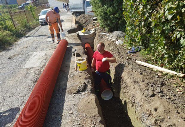Završena izgradnja kanalizacione mreže u MZ Škorići