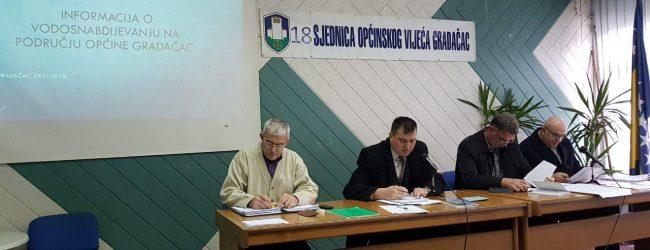 Usvojena Informacija o vodosnabdijevanju na području općine Gradačac