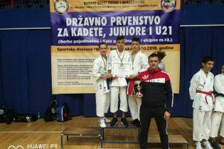 "KBS ""Zmaj"" i KK ""Tempo"" uspješni na državnom karate prvenstvu za kadete, juniore i U21"