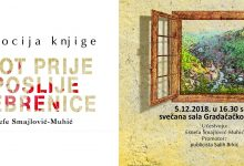 Sutra promocija knjige Život prije i poslije Srebrenice