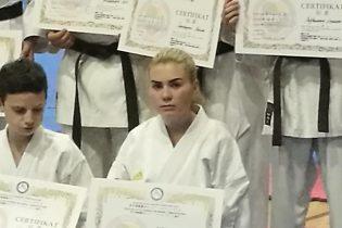 Amna Šehić položila za majstorsko zvanje crni pojas 1 DAN