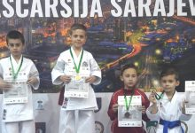 """KBS """"Zmaj"""" osvojio 12 medalja na turniru u Sarajevu"""