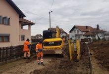 Nastavljeni radovi na kanalizacionoj mreži u sjevernom dijelu općine