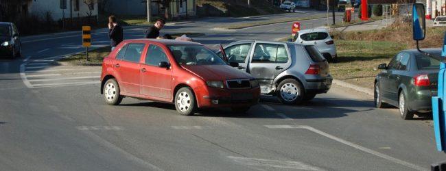 Nova saobraćajna nezgoda u Sarajevskoj ulici