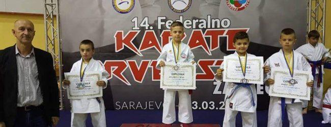 "KBS ""Zmaj"" osvojio 8 medalja na Karate prvenstvu FBiH za mlađe kategorije"