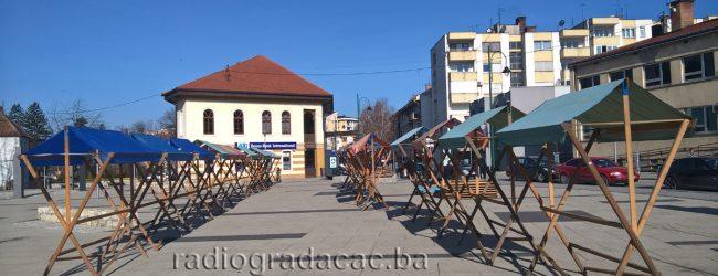 U toku pripreme za osmomartovski bazar u Gradačcu
