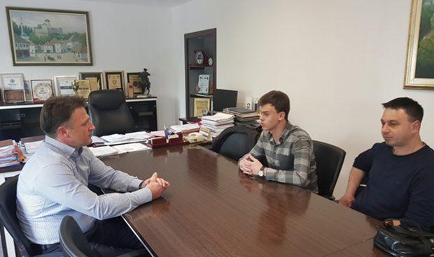 Općinski načelnik upriličio prijem za Selmira Mašetovića