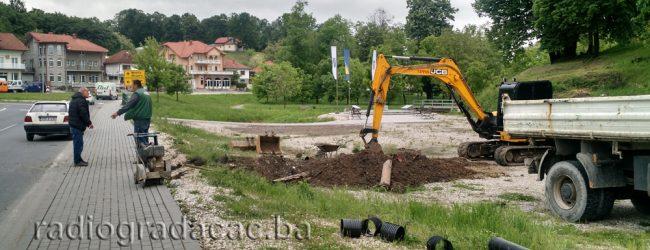 Sanacija i proširenje kapaciteta odvodnje površinskih voda sa kolovoza pored autobuske stanice