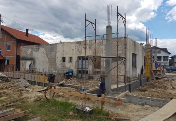 Izgradnja Vatrogasnog doma za PVJ Gradačac