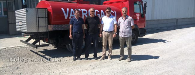 Vatrogasci dobili još jedno vozilo