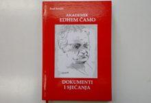 """U srijedu promocija knjige """"Akademik Edhem Čamo – Dokumenti i sjećanja"""" autora Esada Sarajlića"""