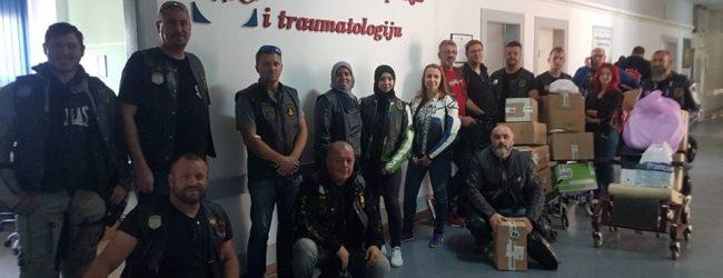 Motoristi uručili donaciju Odjeljenju ortopedije UKC Tuzla
