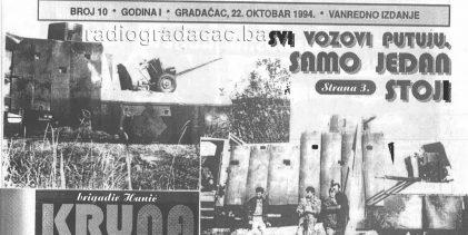 IZ ARHIVE: Danas se navršava 27 godina od zaustavljanja oklopnog voza