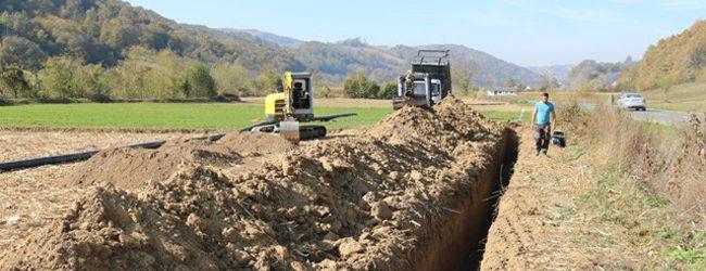 Istovremeno i intenzivno izvođenje radova na više trasa izgradnje sistema južnog vodovoda