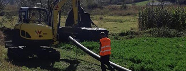 Počela izgradnja vodovodne mreže na dionici Kerep – Zelinja Srednja