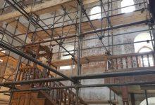 Unutrašnjost džamije Husejnije polako poprima svoj izvorni izgled