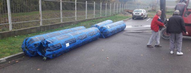 Dopremljena vještačka trava za treći teren na stadionu Banja Ilidža