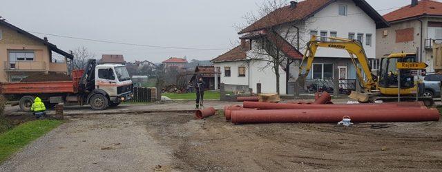 Izgradanja kanalizacione mreže u MZ Vida 1