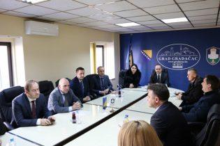 Delegacija Vlade Tuzlanskog kantona boravila u posjeti Gradačcu