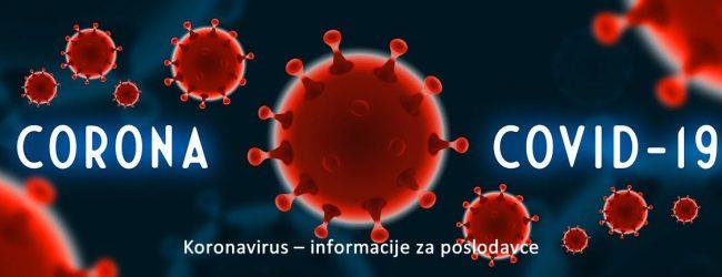 """Udruženje poslodavaca F BiH pokrenulo web servis """"Koronavirus- informacije za poslodavce"""""""