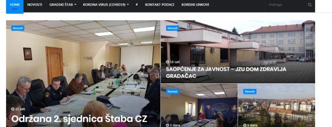 Pokrenuta web lokacija Štaba Civilne zaštite Gradačac (https://kriznistabgradacac.info/)