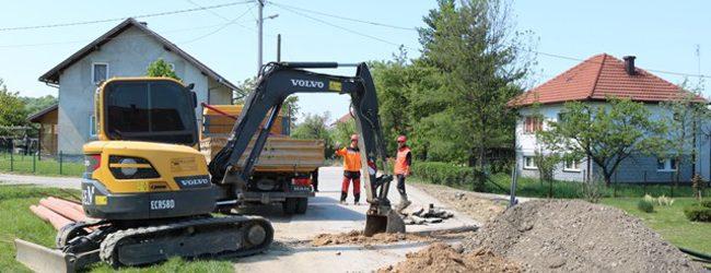 Završeno još 6.913 metara nove kanalizacione mreže u Gradačcu